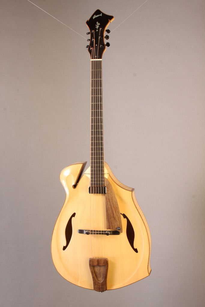 My Giacomel Archtop Is Finally Getting Fixed The Acoustic Guitar Forum Guitar Archtop Guitar Acoustic Guitar