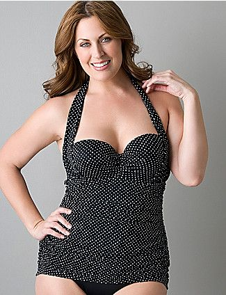 5d3c6a7ade31d Last year's Lane Bryant bathing suit. Just bought this at Gabe's for - wait  for it - $12! SCORE :)