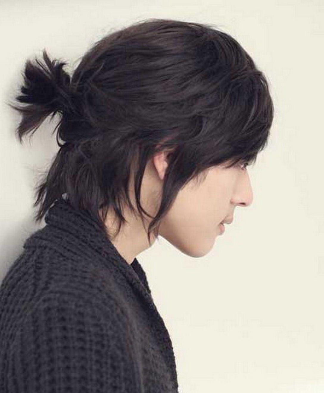 Korean Hairstyles For Men 2018 16 In 2020 Asian Long Hair Long Hair Styles Asian Haircut