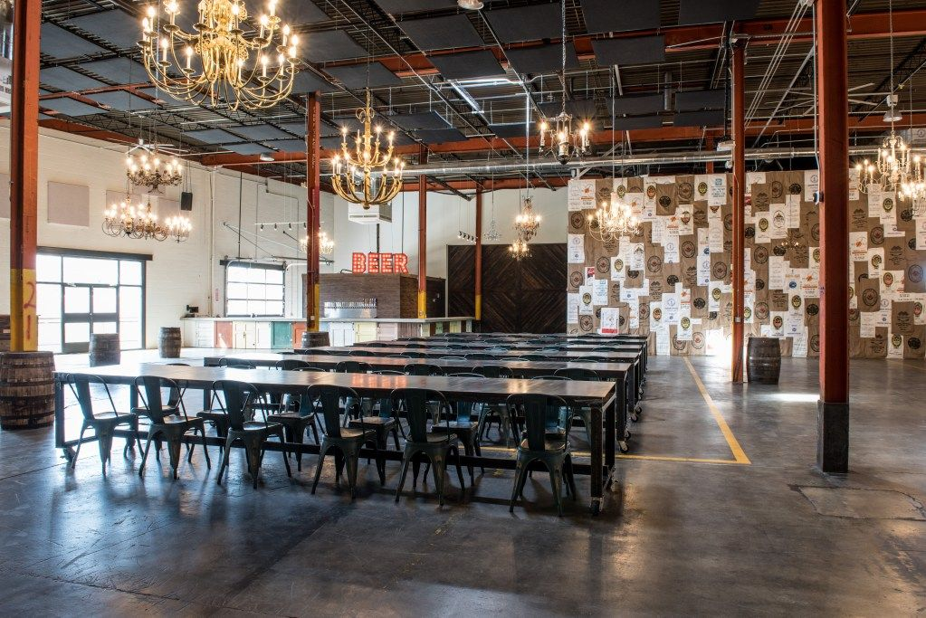 Pin By Samantha Braginsky On Garage At Monday Night Brewery Private Event Indoor Monday Night