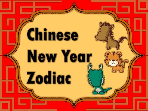 Chinese Zodiac animals and characteristics Chinese new