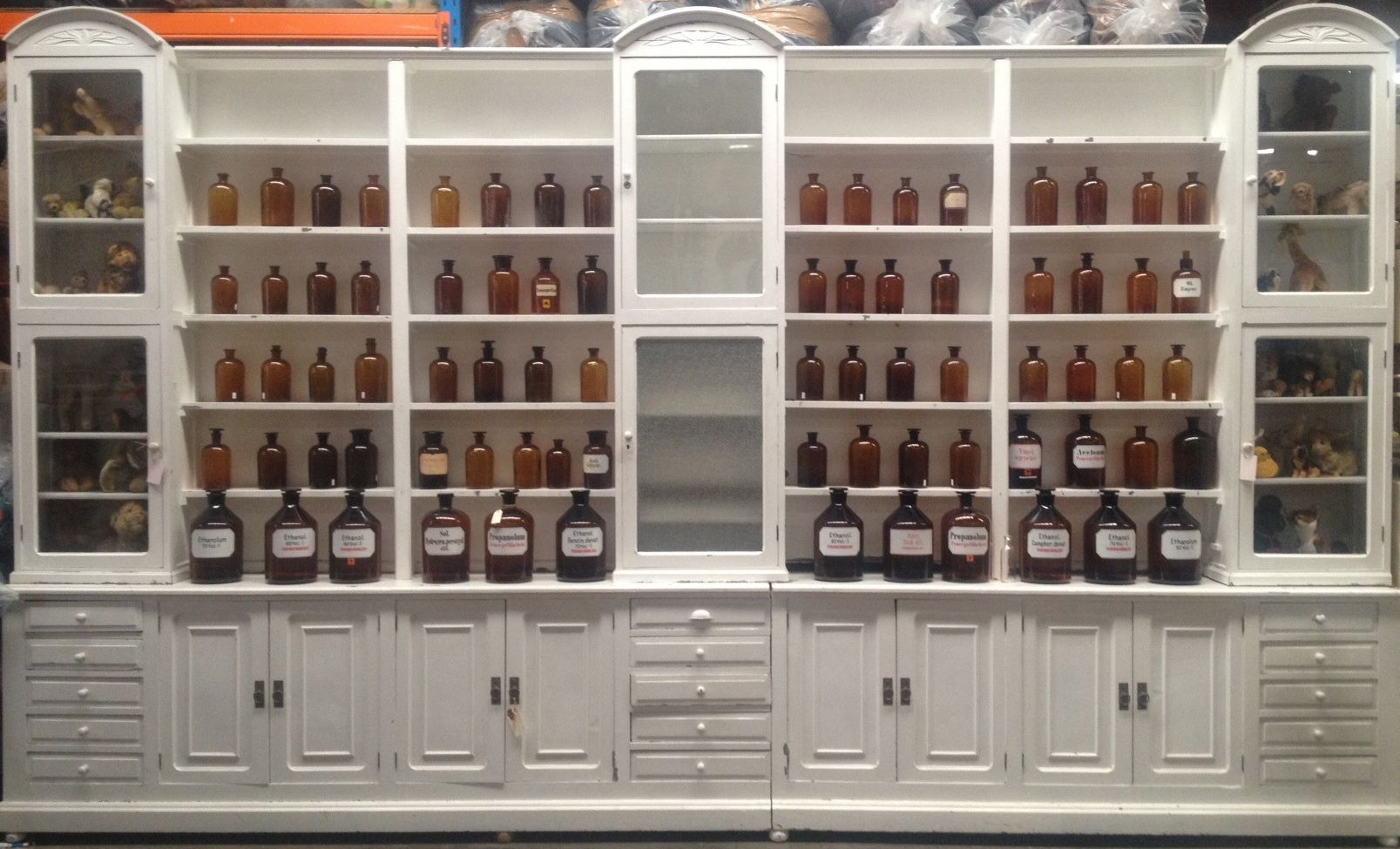 Awesome Romantic Decorating Modern Apothecary Cabinet