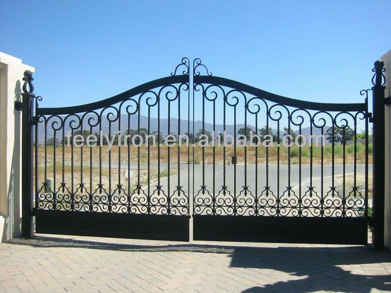 Hierro forjado puerta de entrada fg 005 buy product on for Puertas de entrada de hierro forjado