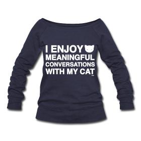 I found Meaningful Conversations | catversushuman on Wish