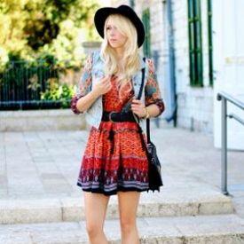 Boho Stil boho stil modni trend za proljeće blender moda i