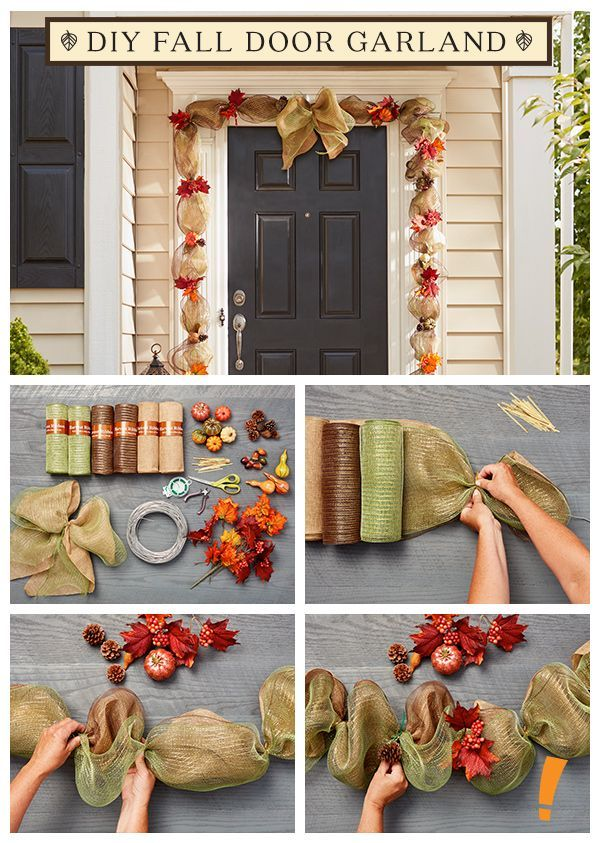 Youll be surprised at how easy it is to decorate any door ...