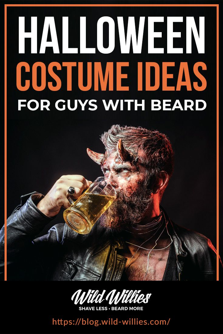 Halloween Costume Ideas For Guys With Beards in 2020