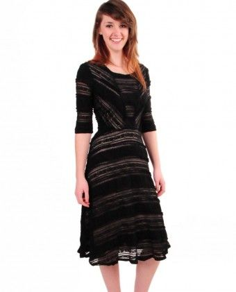 Sangria Lace Overlay Dress $69