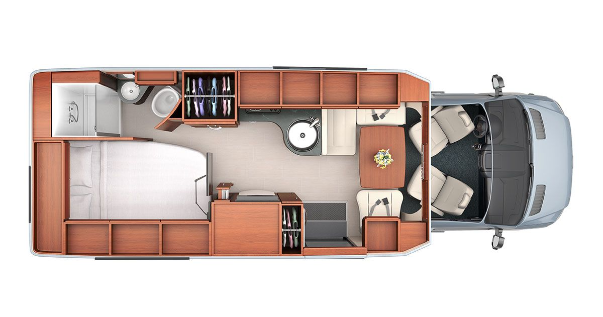 Explore The Floorplan Layouts Of Serenity Class C RV By Leisure Travel Vans See Photos Videos Floorplans And More Luxurious