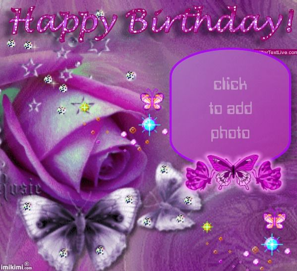 Happy Birthday Birthday Frames Pinterest – Free Birthday Photo Cards