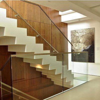 Dise os de escaleras modernas architecture pinterest for Modelos de escaleras modernas