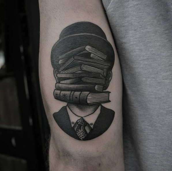 40 amazing book tattoos for literary lovers books for Tattoo amsterdam walk in