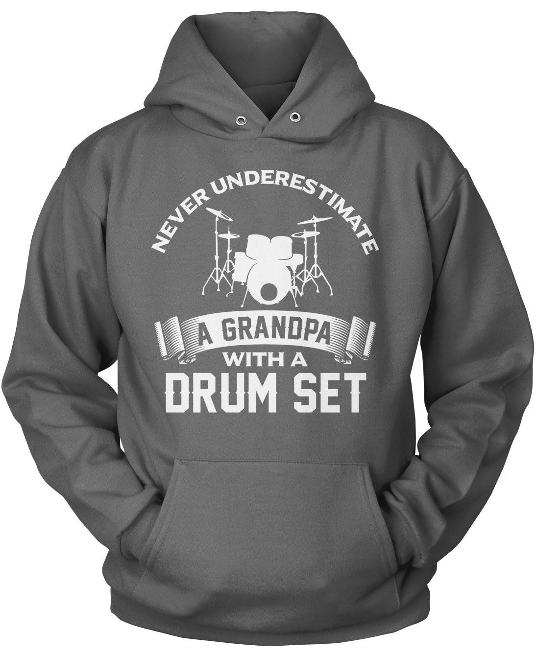 Never Underestimate a Grandpa with a Drum Set