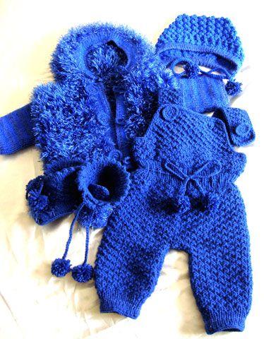 вязание для грудничка мальчика