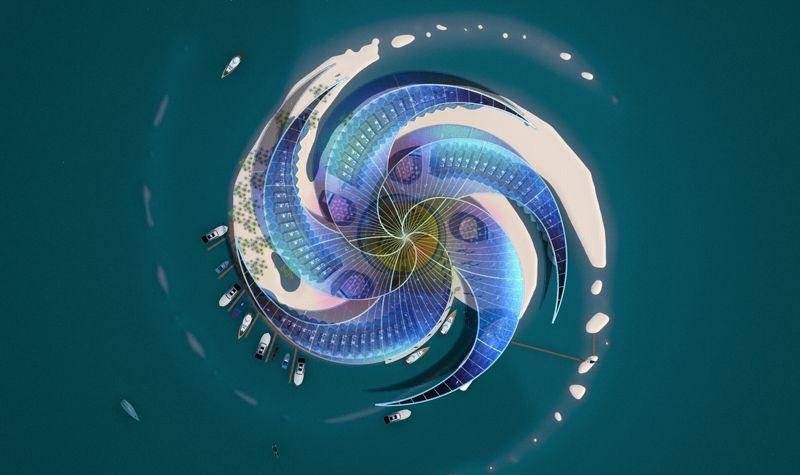 Futuredome Concept Futuredome Is A Concept For A 360