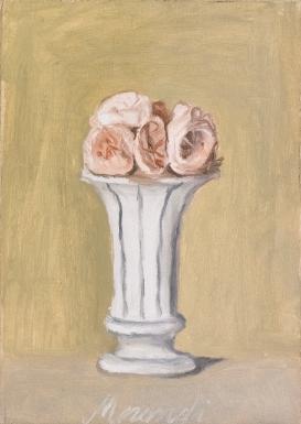 vase still life by Giorgio Morandi #neutral #colors