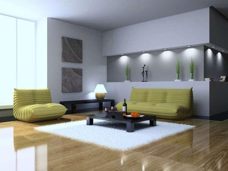 Idee pareti soggiorno in cartongesso - Soggiorno in stile ...