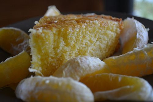 Gluten free citrus sour cream cake | The Treehouse Years