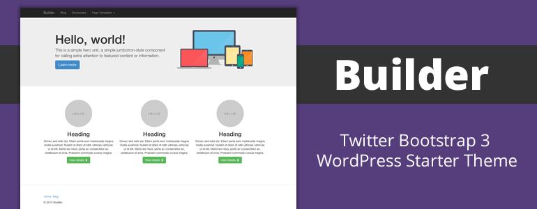 Twitter Bootstrap 3 WordPress Starter Theme | Wordpress | Pinterest ...