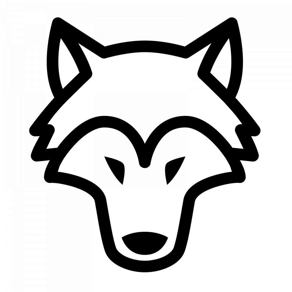18 Black Wolf Icon Png Black Wolf Wolf Silhouette Wolf Emblem