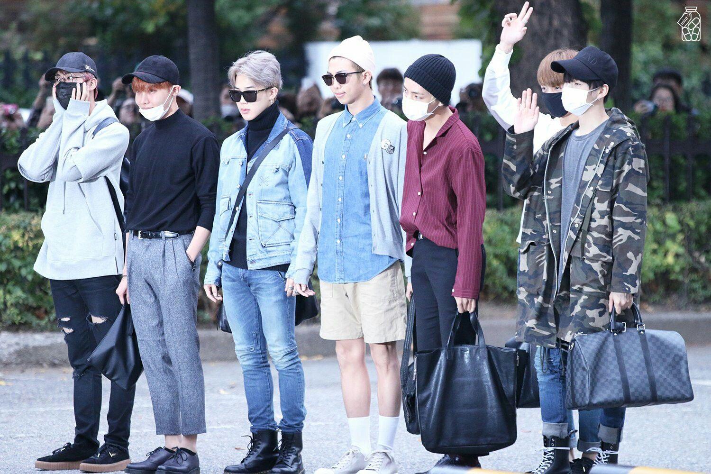 BTS Arrival at KBS Music Bank ❤ #BTS #방탄소년단