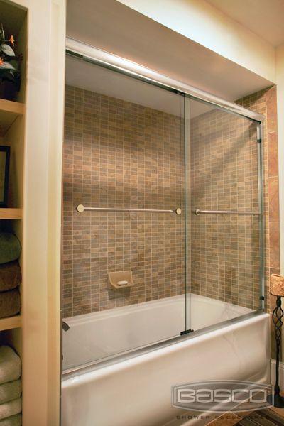 Basco Shower Enclosures -Infinity #4400 tub   shower doors ...