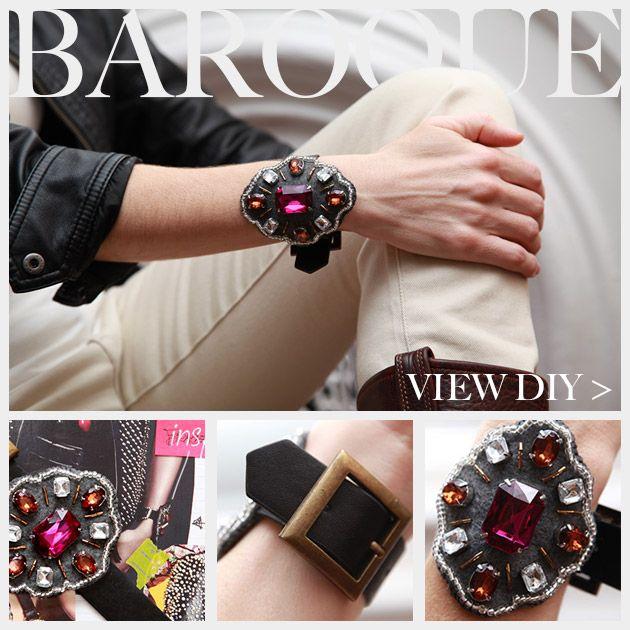 Baroque Bracelet DIY Feature