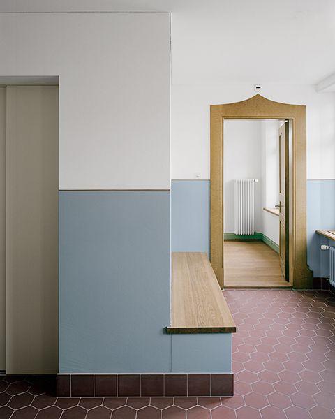 atelier abraha achermann farbiger absatz zuk nftige projekte pinterest innenarchitektur. Black Bedroom Furniture Sets. Home Design Ideas
