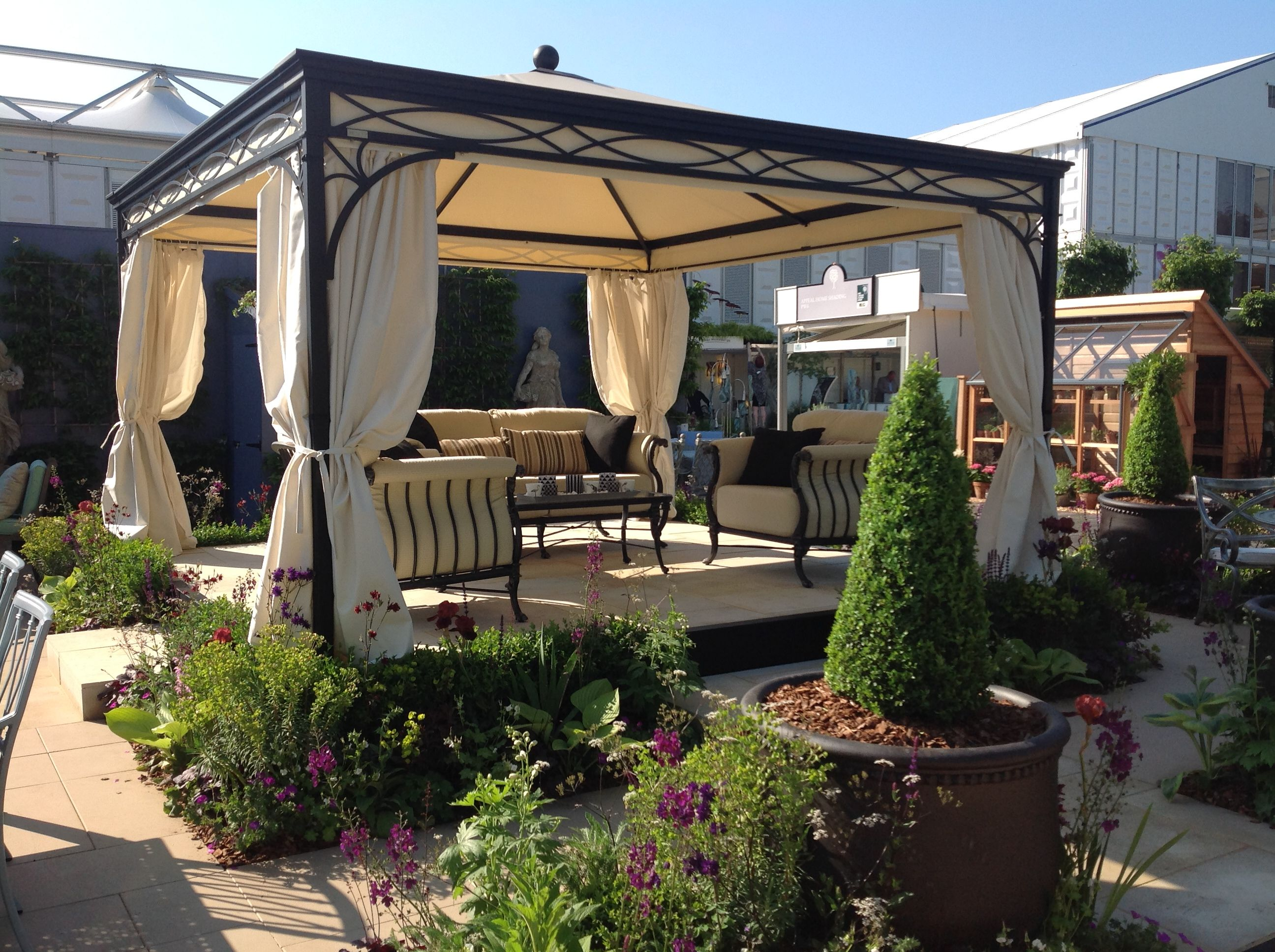 Oxley S Furniture And Unosider Gazebo Novecento At Chelsea