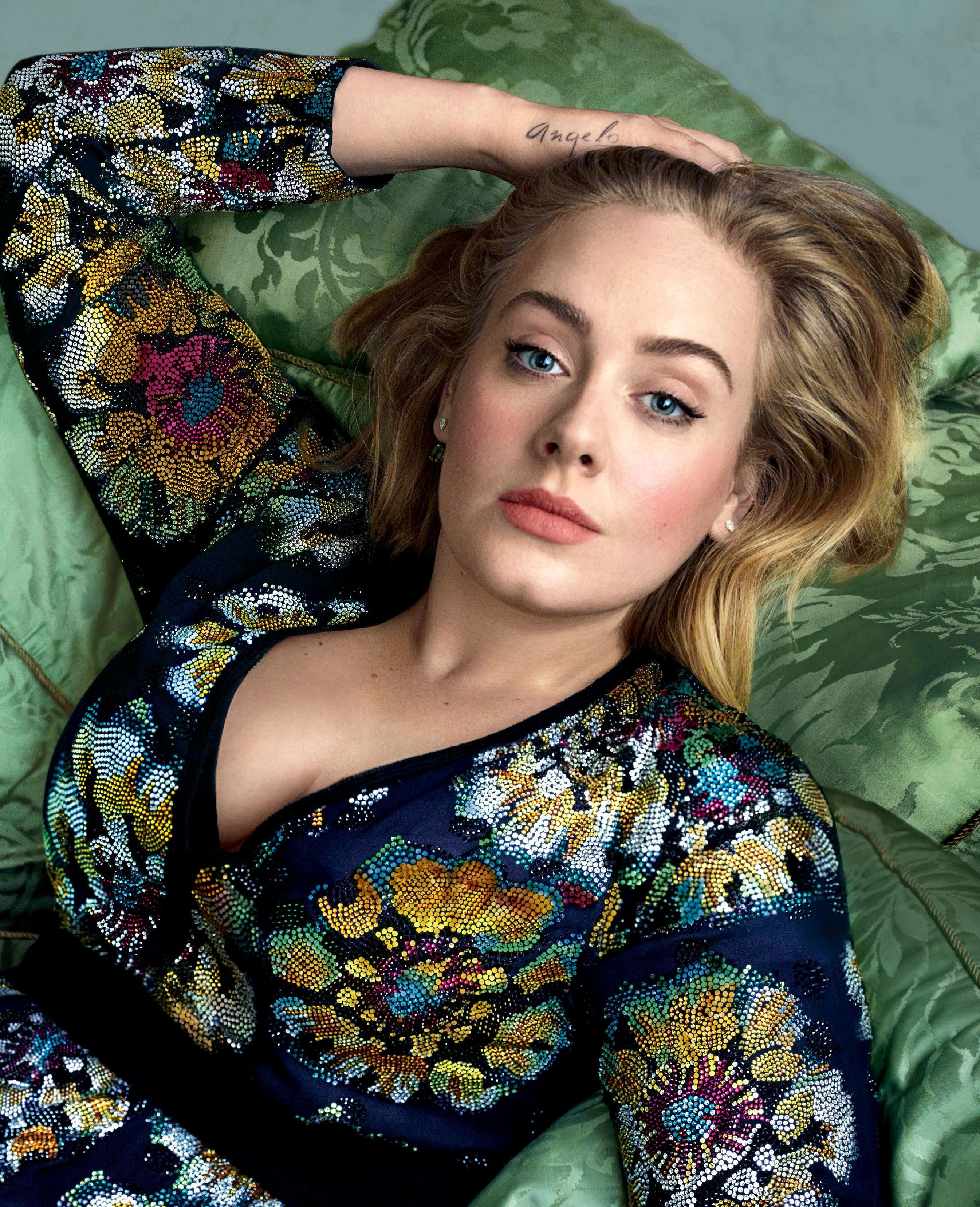 Adele By Annie Leibovitz More