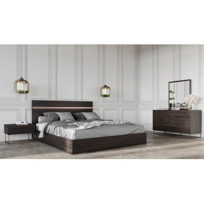 Brayden Studio Kinzey Platform 5 Piece Bedroom Set Bed Size Queen