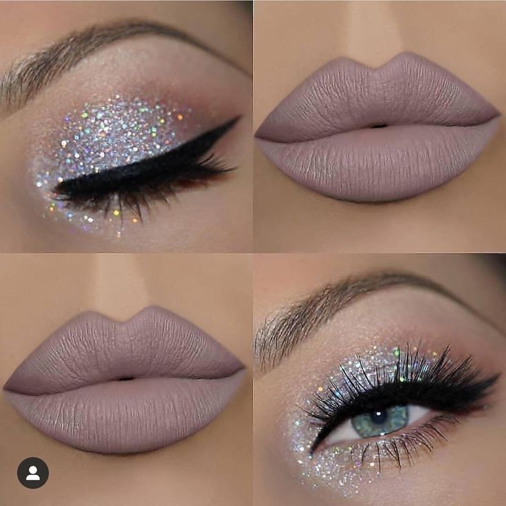 Pin by Francisca Rath on Silver eye makeup in 2020 | Makeup for beginners, Eye makeup, Eyeshadow makeup