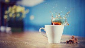 Cool Morning, Coffee, Cup, Splash