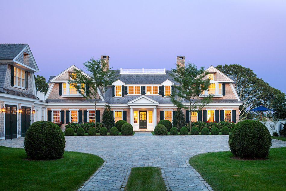 Preppy New England Architecture Gets a Modern Update