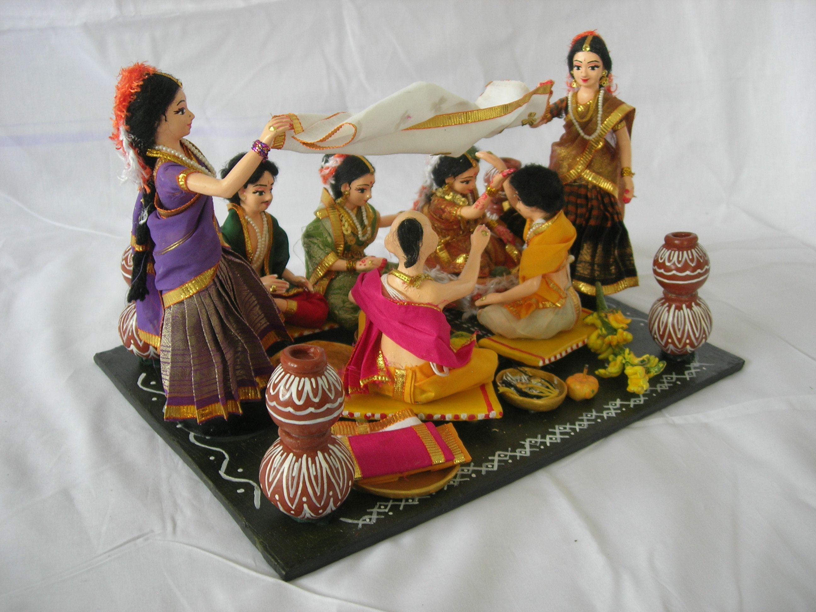 Ramani Paper Mâché Costume Doll Maker In India