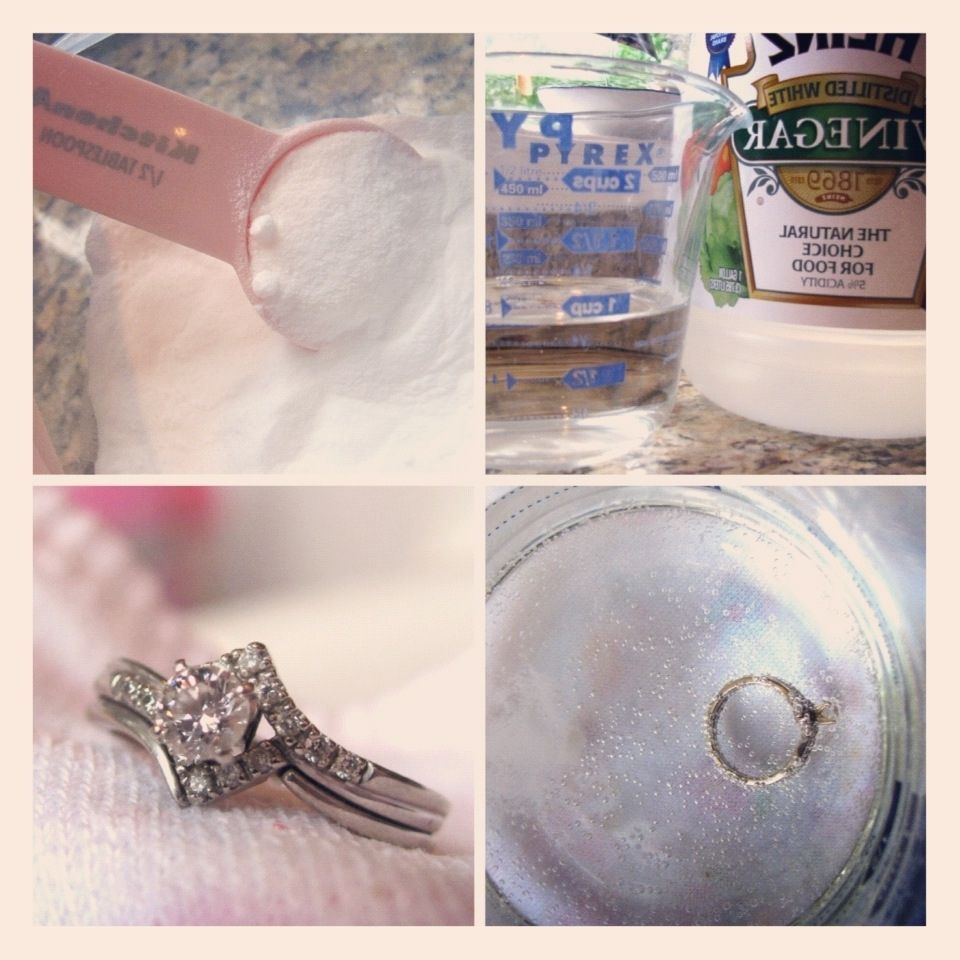 Cleaning A Diamond Ring At Home Vinegar