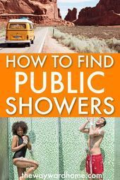 Photo of Are you wondering how to find a good public shower when living in a campervan? C…
