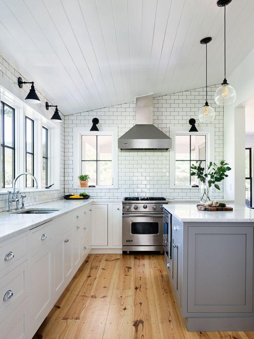 Dutchess County Farmhouse Jill Porter Architect Farmhouse Kitchen Remodel Kitchen Flooring Farmhouse Remodel