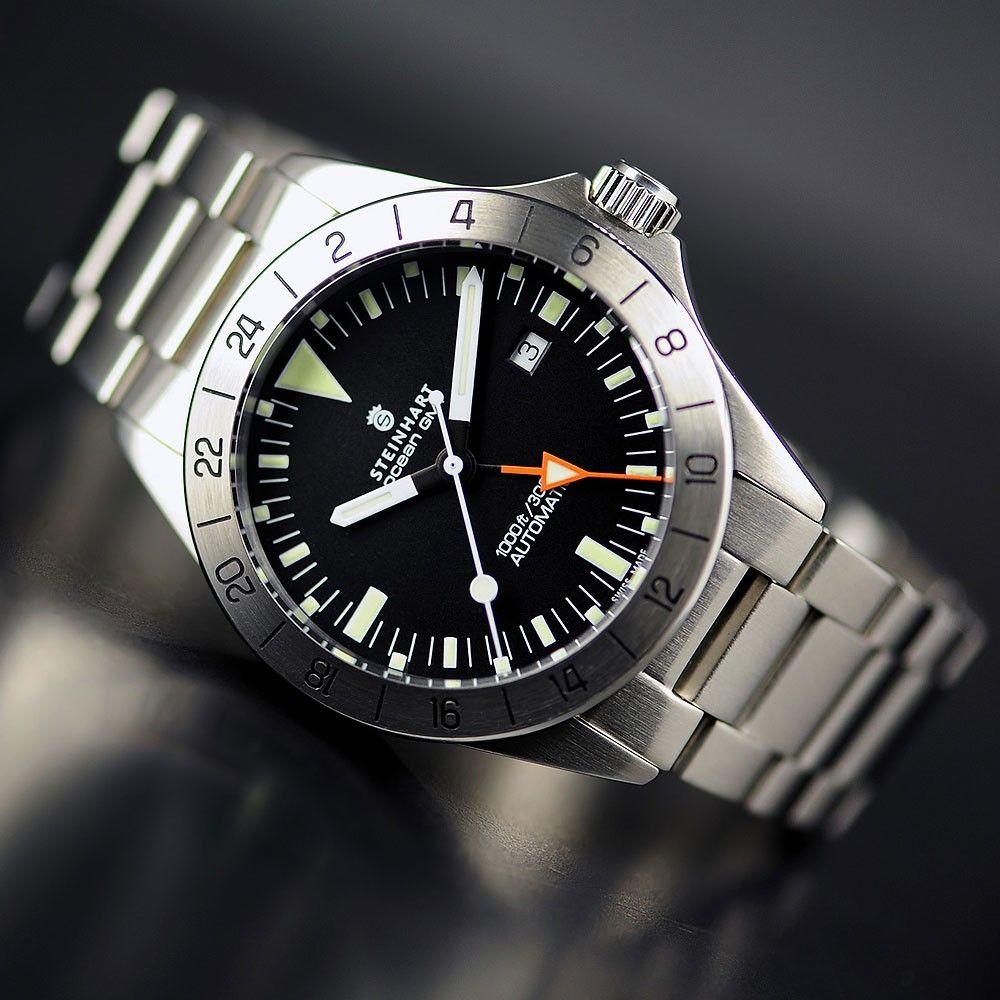Steinhart Ocean Vintage Gmt Luxury Watches For Men Steinhart Watch Watches