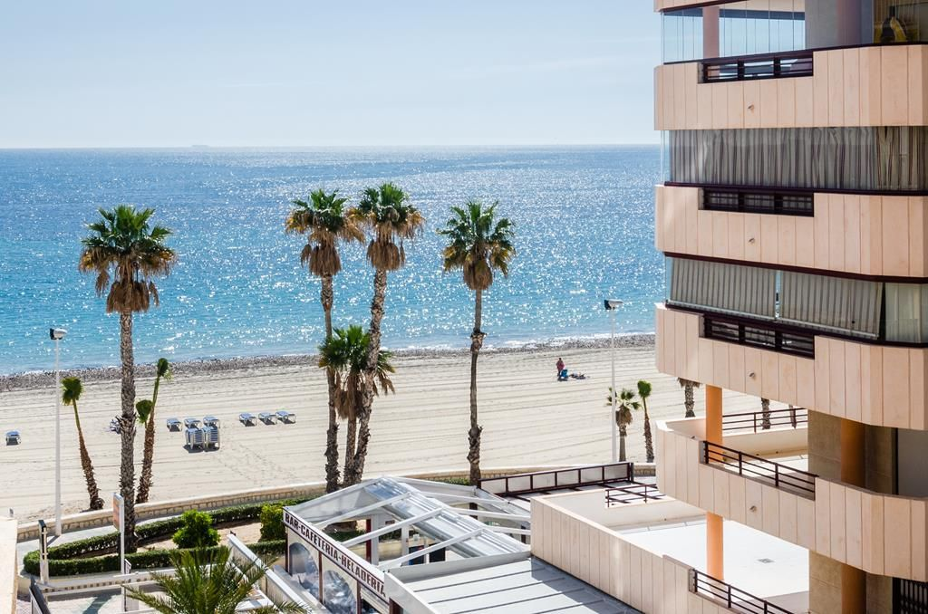 Beachfront Apartment For Sale In Calpe - Spain ...