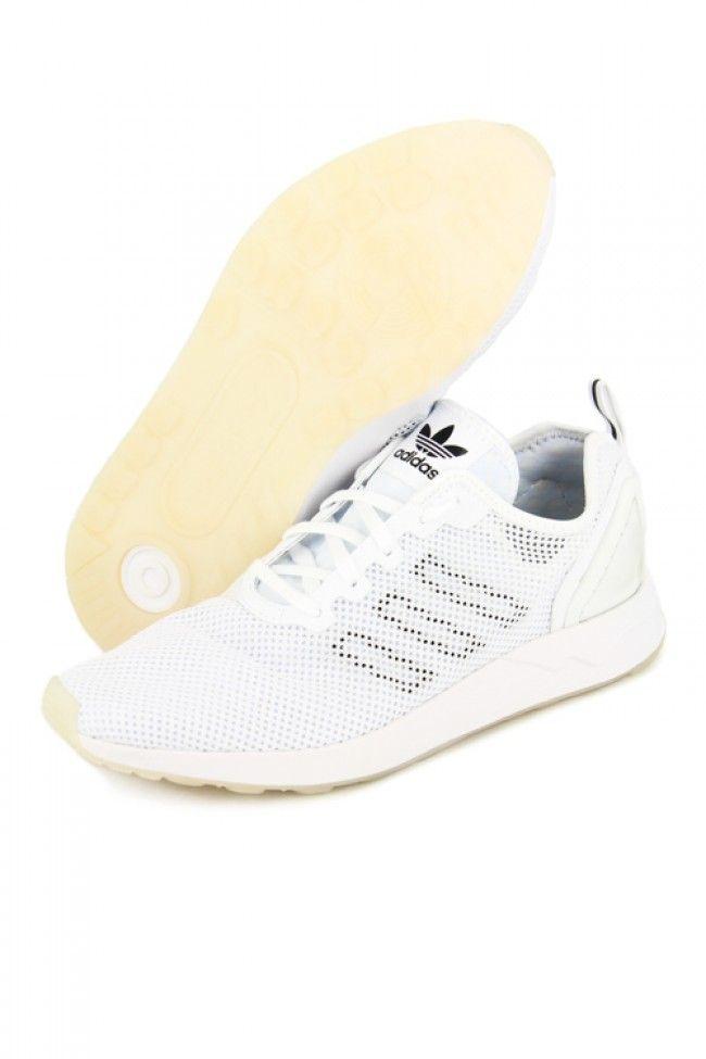 Adidas Originals ZX Flux Adv SI White/black | Culture Kings Online Store