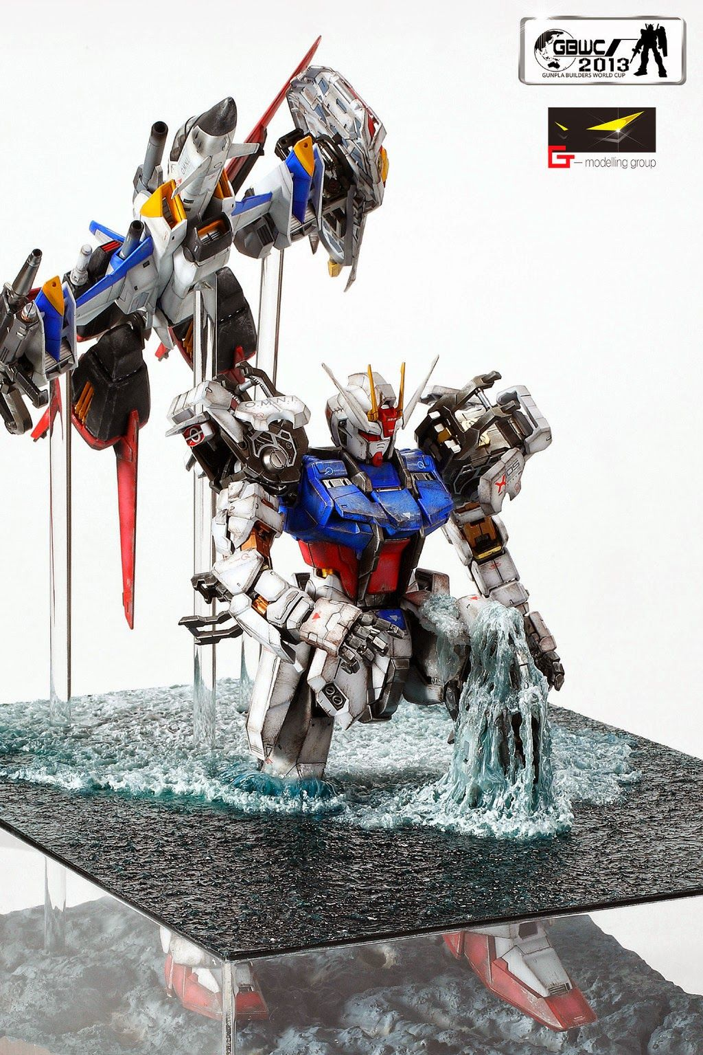 GUNDAM GUY: PG 1/60 Aile Strike Gundam 'Come On Home Within Two Hours!!' - Diorama Build (GBWC 2013 Entry)