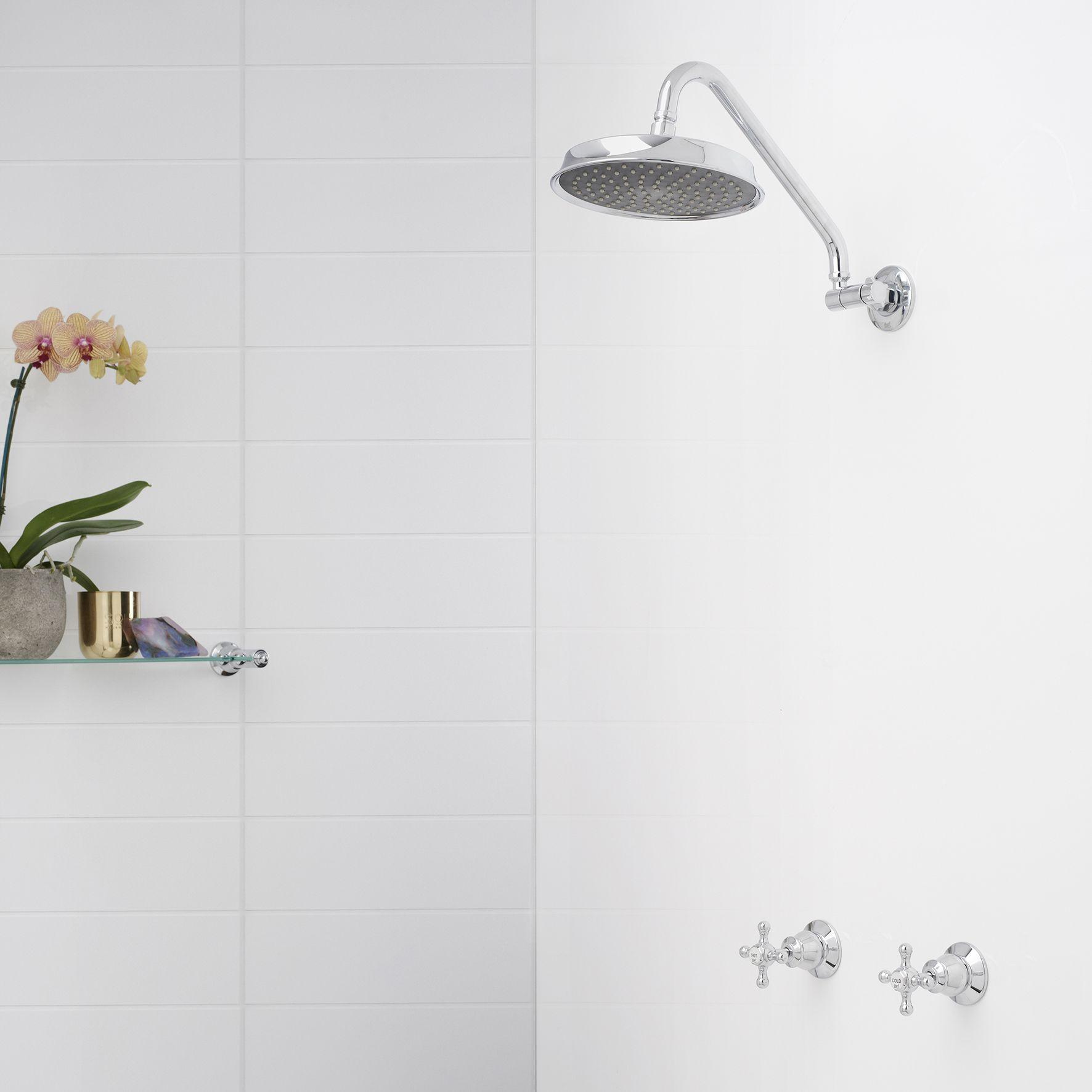 Dorf Manor House Cross Adjustable Shower Set #dorf #dorfstyle #tap ...