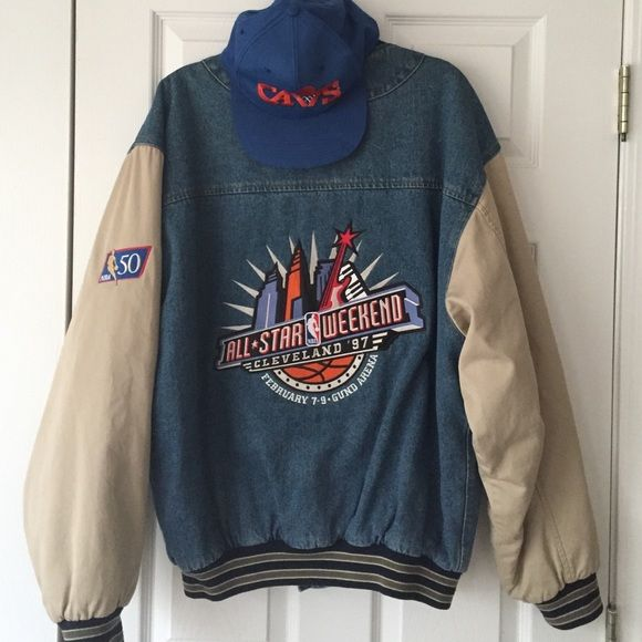 2d8e50a946 Vintage Jacket Excellent Condition From NBA Allstar Weekend 1997! The Year  Kobe Bryant Won The Slam Dunk Competition In Cleveland Ohio! gear for  sports ...