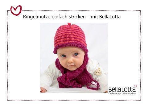 Babymütze Einfach Stricken Mütze Stricken Für Anfänger Youtube