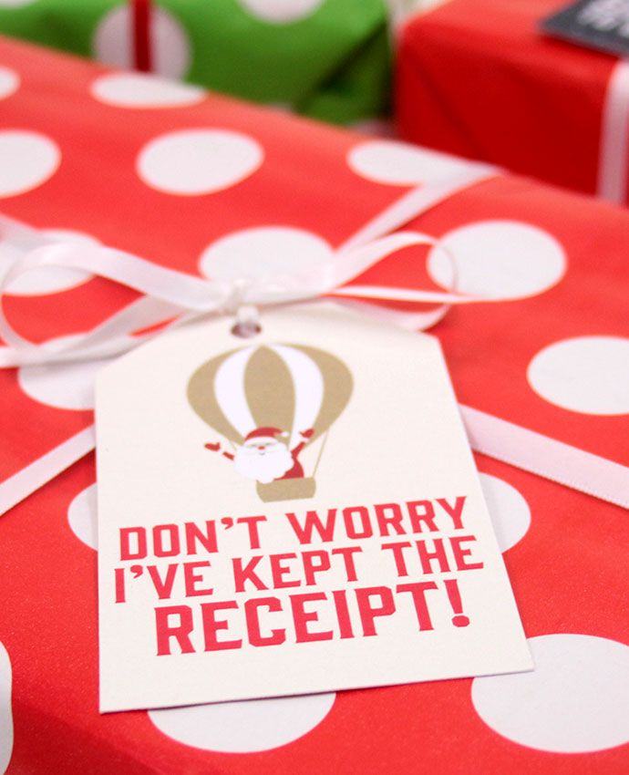 Honest Christmas Gift Tags Christmas gifts, Wrapping ideas and