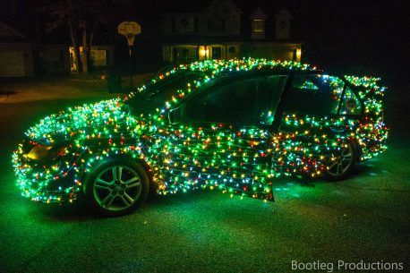 Car Covered In Christmas Lights Video Christmas Car Christmas Car Decorations Amazon Christmas Decorations
