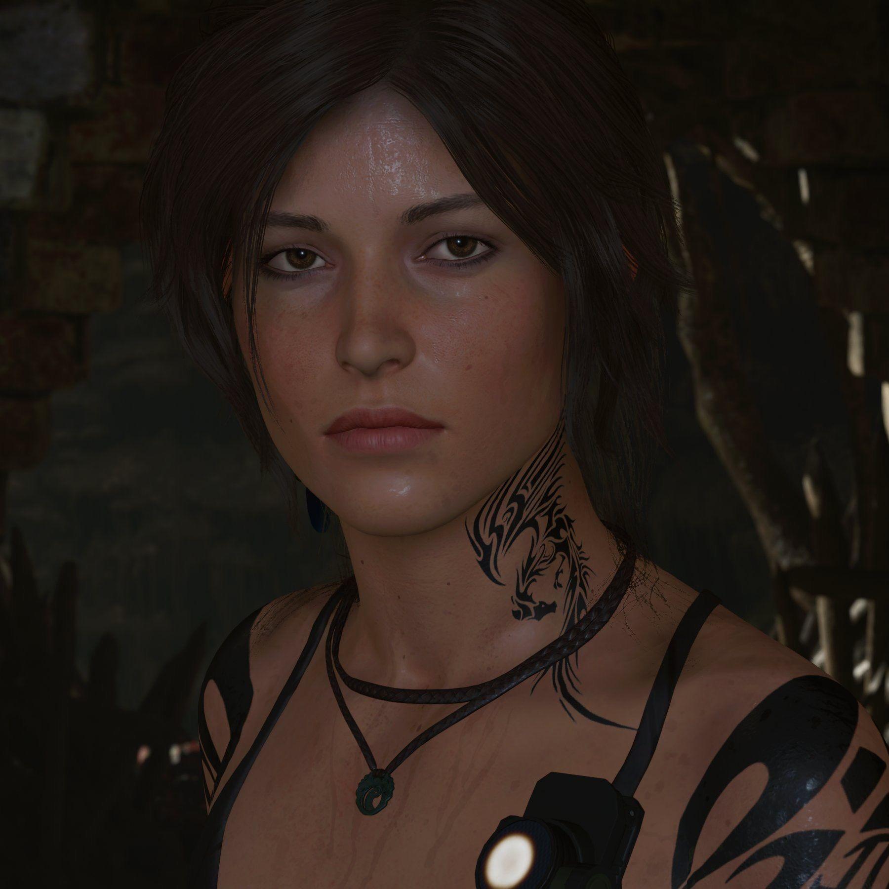 A Sweetheart Laracroft Tattoos Tombraider Mod Tomb Raider