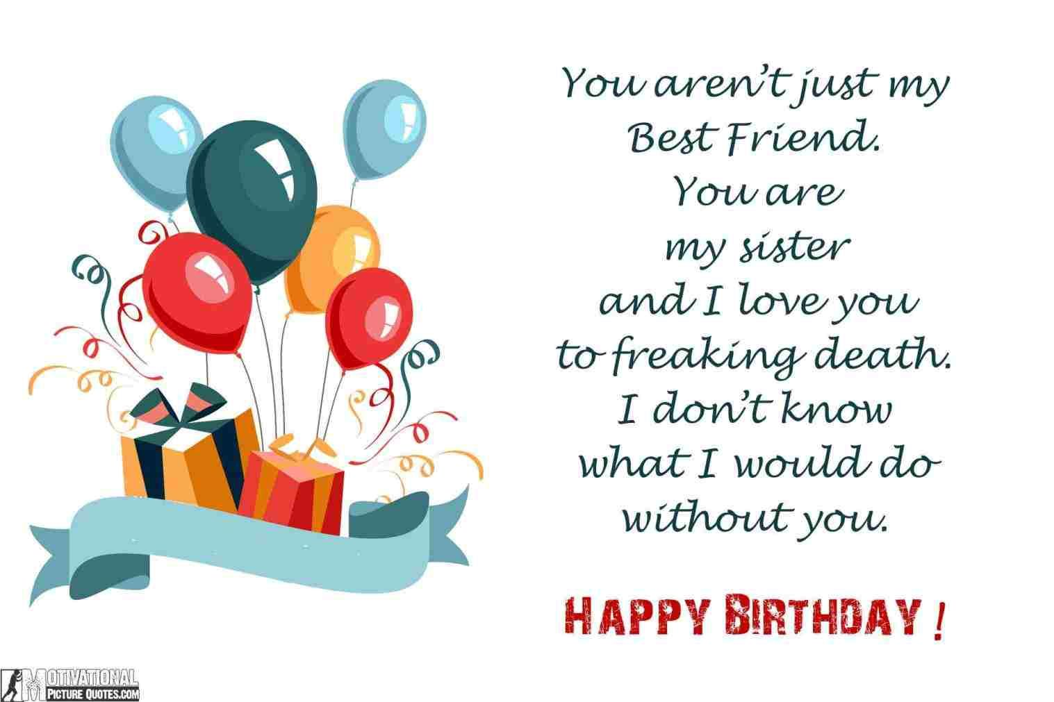 Happy Birthday Wishes Birthday Wishes To Hindi Download Free Happy Birth Birthday Wishes For Myself Happy Birthday Quotes For Friends Sister Birthday Quotes