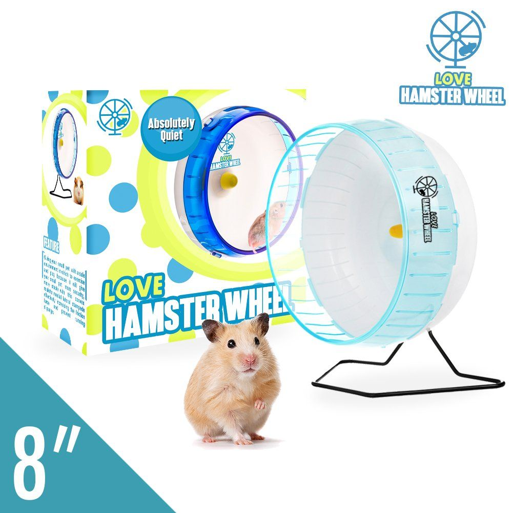 Hamster Wheel 8a Pet Comfort Exercise Wheel Large And Easy Attach To Wire Cage For Hamsters Gerbils Chinchillas Hedgehogs Mice And In 2020 Hamster Small Pets Gerbil